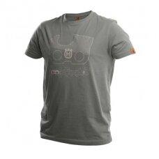 """Marškinėliai """"Xplorer"""" trumposis rankovėmis su """"X-Cut"""" grandinės ženklu"""